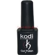 Kodi гель-лак для ногтей 7 мл (цвет 118) серебряный с блестками 12 шт/уп