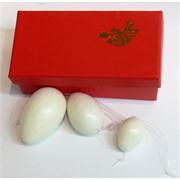 Яйца из нефрита вагинальные, цена за 3 штуки