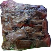 Глина пластилин мягкая коричневая 100 шт