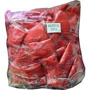 Глина пластилин мягкая красная 100 шт