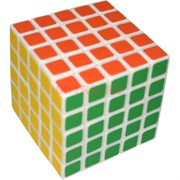 Кубик головоломка 5х5 пластмасса 65 мм 6 шт/уп