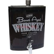Фляга 128 унций Whiskey Barrel Aged с краником