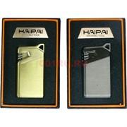 Зажигалка газовая Haipai «металл гладкая 3 цвета»