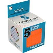 Игрушка Кубик Головоломка цветная 6,6 см (5 квадратов сторона)