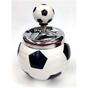 Пепельница керамическая «футбольный мяч» (нажимная)