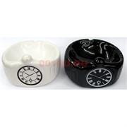 Пепельница «часы» керамическая
