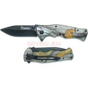 Нож складной (B048) Boxer «листья»