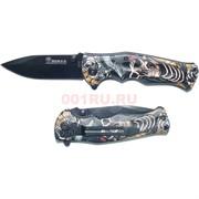 Нож складной (B048) Boxer «черепа»
