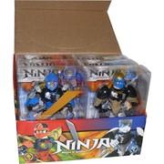 Игрушка трансформер 20 см Ninja 6 шт/уп Masters Of Spinjitsu