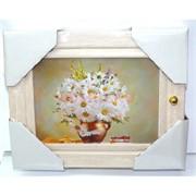 Ключница деревянная 19x24 см (рисунки в ассортименте)