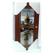 Ключница деревянная 31x16 см (рисунки в ассортименте)