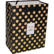 Пакет подарочный (MC-4522) Best Wishes 18х23 см 20 шт/уп