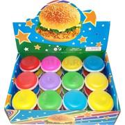 Лизун слайм «печенье 2 цвета» 24 шт/уп