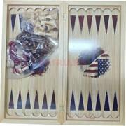 Шахматы-шашки-нарды 3-в-1 доска 50 см