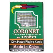 Карты для покера Coronet 100% пластик 54 карты