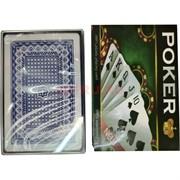 Карты для покера Poker в пластиковой коробочке 144 шт/кор