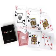 Карты игральные Poker Club пластиковые 144 шт/кор