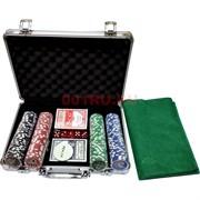 Набор для покера 200 фишек (11,5  гр) в кейсе