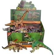 Динозавры со звуком 12 шт/уп