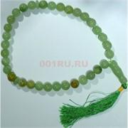 Четки из прессованного камня (зеленый оникс) 12 мм
