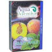 Табак для кальяна Aqua Mentha от Адалии 50 гр «Aqua Crazy Peach»