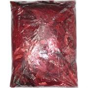 Пайетки для рукоделия «листочки красные» 500 гр