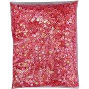 Пайетки для рукоделия «круглые розовые» 500 гр