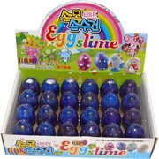 Лизун слайм Egg Slime 24 шт/уп