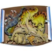 Динозавры твердые 12 шт/уп