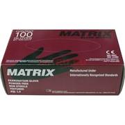Медицинские перчатки «Matrix» нитриловые, неопудренные 50 пар