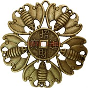 Монета «летучая мышь» 7,2 см под бронзу