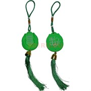Амулет мусульманский (HR-D3-1682) зеленый 12 шт/уп