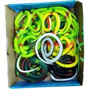Змея резиновая цветная 20 шт/уп
