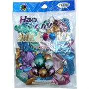 Шарики Hao Lin 12 дюймов хром разные цвета 50 шт