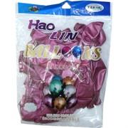 Шарики Hao Lin 12 дюймов хром «лиловый цвет» 50 шт
