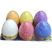 Шариковый пластилин в яйце 14x9 см 6 шт/уп
