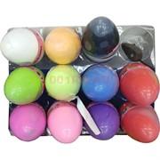 Пластилин (легкая глина) цветной в яйце 11x7 см 12 шт/уп