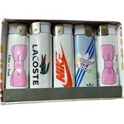 Зажигалка нажимная с брендами 50 шт/уп