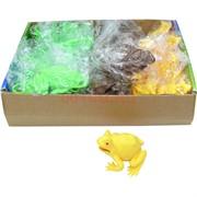 Лягушка с яйцом внутри 3 цвета 24 шт/уп