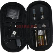 Электронная сигарета EVOD двойная с жидкостью и переходником