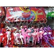 Брелок «фламинго резиновые» 120 шт/уп (KL-1210)