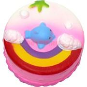 Сквиши «торт радуга» 12 шт/уп