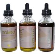 Жидкость для испарителей 120 мл Naked 3 мг табачные вкусы