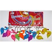 Брелок «фламинго» (KL-1507) резиновые 120 шт/уп