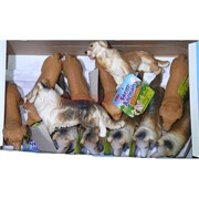 Резиновая игрушка «Собачка» 12 шт/уп
