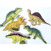 Игрушка резиновая «Динозавры» 12 шт/уп