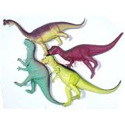 Игрушка резиновая «Динозаврики» 12 шт/уп