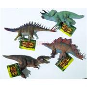 Игрушка резиновая 11 см «Динозавры» 24 шт/уп