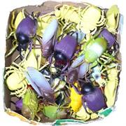 Игрушка резиновая «Жуки и саранча» 48 шт/уп