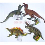 Резиновая игрушка 13 см «Динозавры» 12 шт/уп